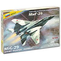 Советский истребитель-бомбардировщик МиГ-29. Модель для сборки