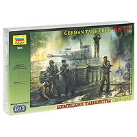 """Набор миниатюр """"Немецкие танкисты"""""""