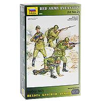 """Набор миниатюр """"Пехота Красной Армии""""."""