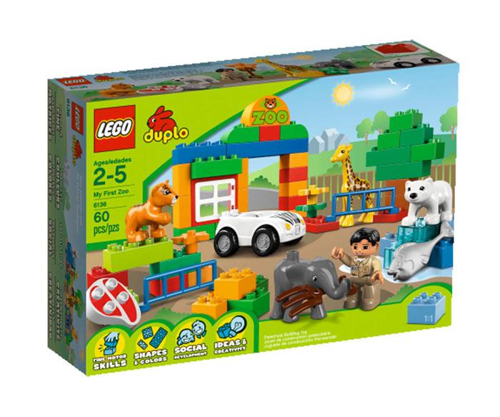 LEGO: Мой первый зоопарк 6136 - купить детские товары 2013-2014 с доставкой в интернет магазине OZON.ru Описание и цена lego: мой первый зоопарк 6136, отзывы покупателей
