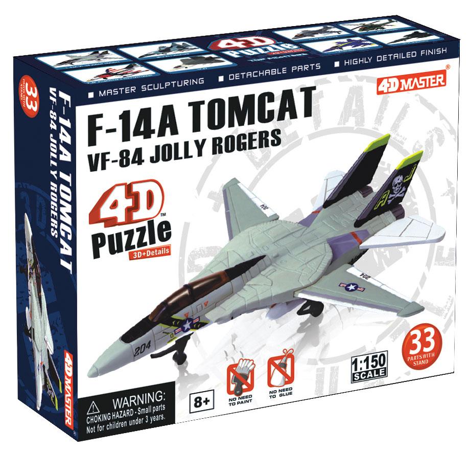 """Сборная модель 4D Master """"Истребитель Jolly Rogers F-14A VF-84"""""""