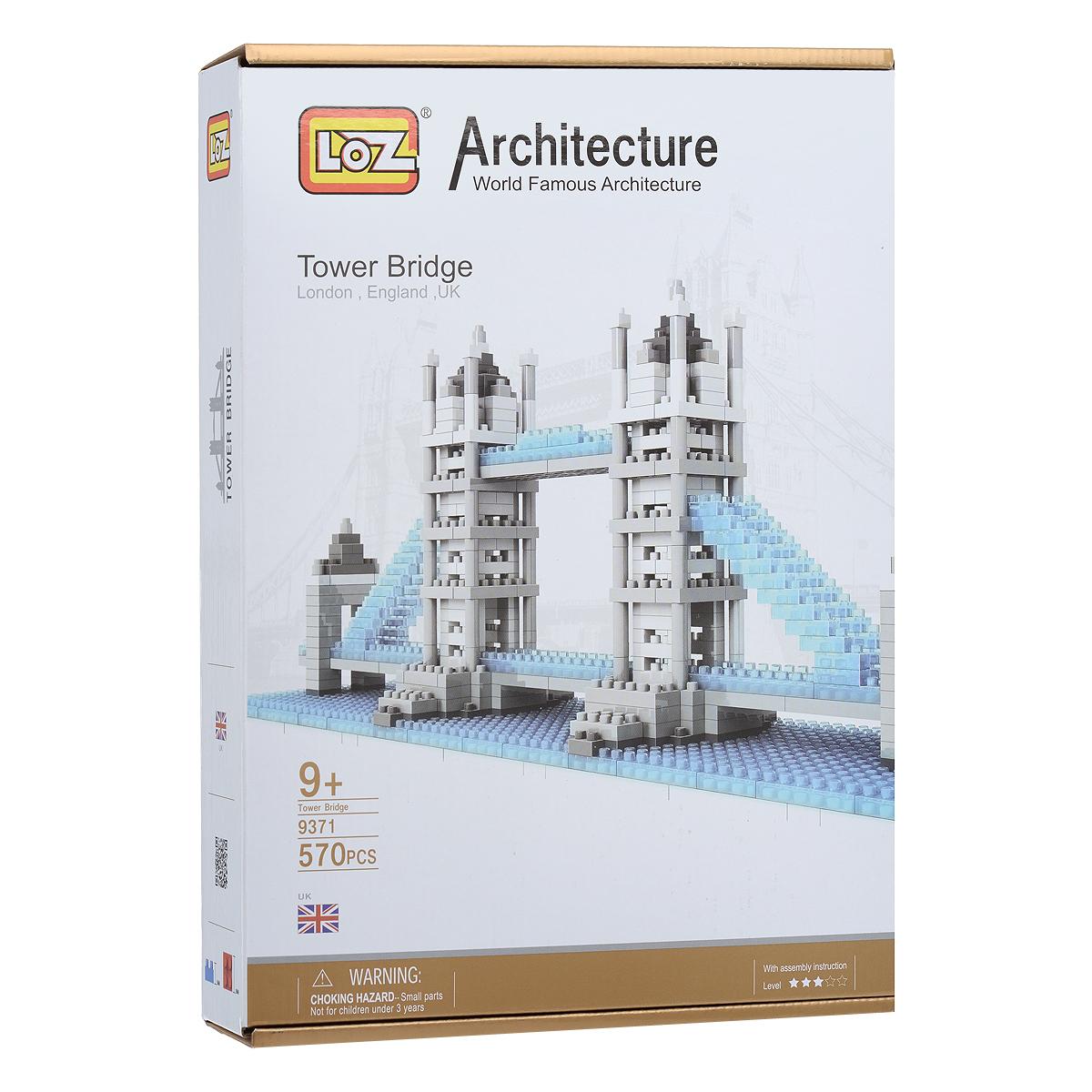 Тауэрский мост. Объемный 3D-пазл