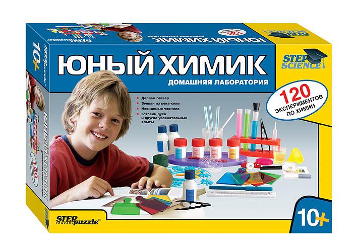 Научно-познавательный набор Юный химик. Домашняя лаборатория