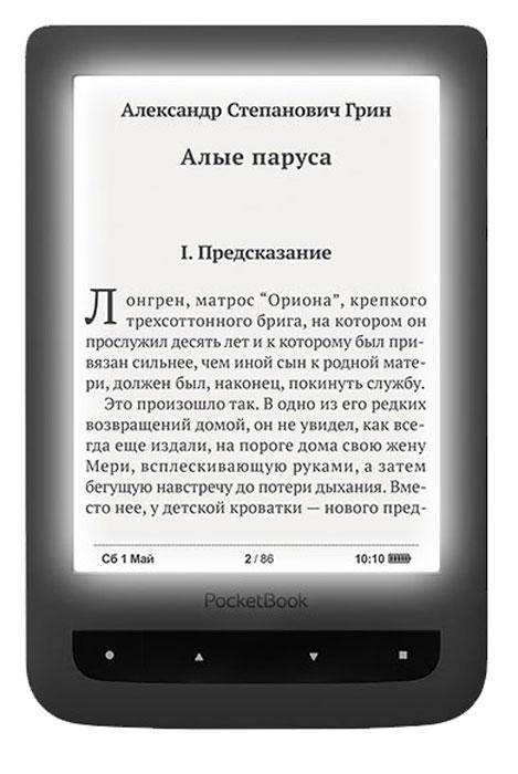 PocketBook 626, Grey электронная книга - купить в разделе электроника pocketbook 626, grey электронная книга по лучшей цене от интернет магазина OZON.ru Фото, отзывы и доставка электроники