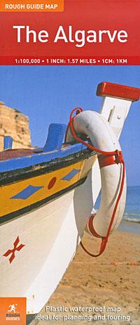 Фото The Algarve: Rough Guide Map. Купить  в РФ