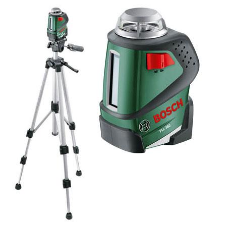 Нивелир Bosch PLL 360 Set 0603663001 + штатив - фото 2