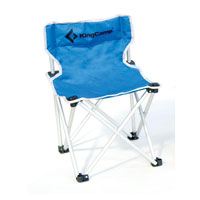Стул складной  KingCamp , цвет: синий. КС3802