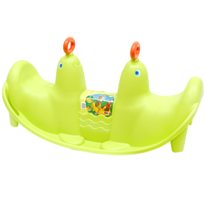 Smoby Качели  Морской лев , цвет: зеленый -  Ходунки, прыгунки, качалки