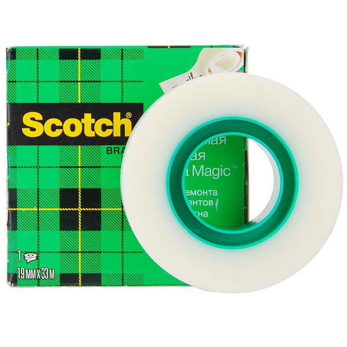Клейкая лента  Scotch Magic , матовая -  Клейкая лента