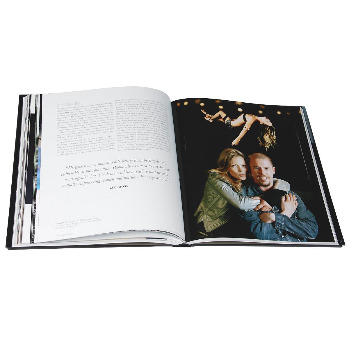 Alexander mcqueen fashion visionary book