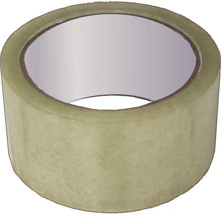 Скотч упаковочный прозрачный РОС, 140 м х 4,8 см х 40 мкр -  Клейкая лента