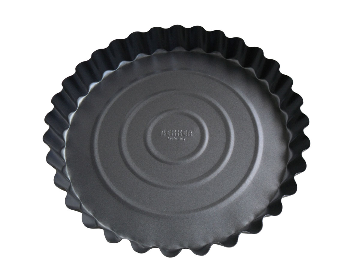 """Фото Форма для выпечки """"Bekker"""" с антипригарным покрытием, цвет: серый, диаметр 27,7 см. BK-3957 (24). Купить  в РФ"""