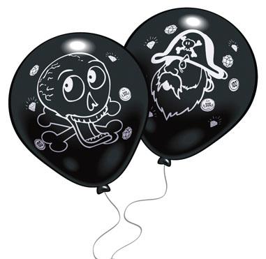 Набор воздушных шаров Everts  Пираты , 8 шт -  Аксессуары для детского праздника