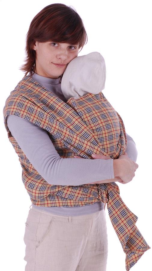 Слинг-шарф  Уют , цвет: бежевый -  Рюкзаки, слинги, кенгуру