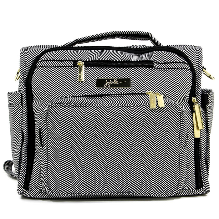 Сумка-рюкзак для мамы Ju-Ju-Be  B.F.F. Legacy. Gueen Of The Nile , цвет: черный, серый