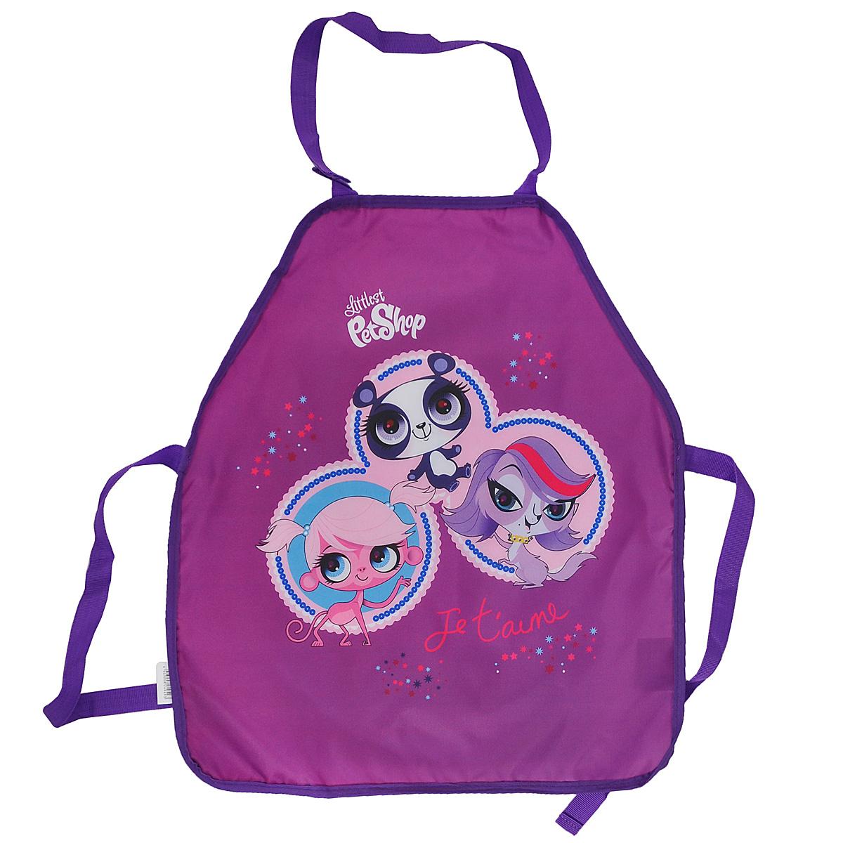 Фартук для детского творчества  Littlest Pet Shop , цвет: фиолетовый -  Аксессуары для труда