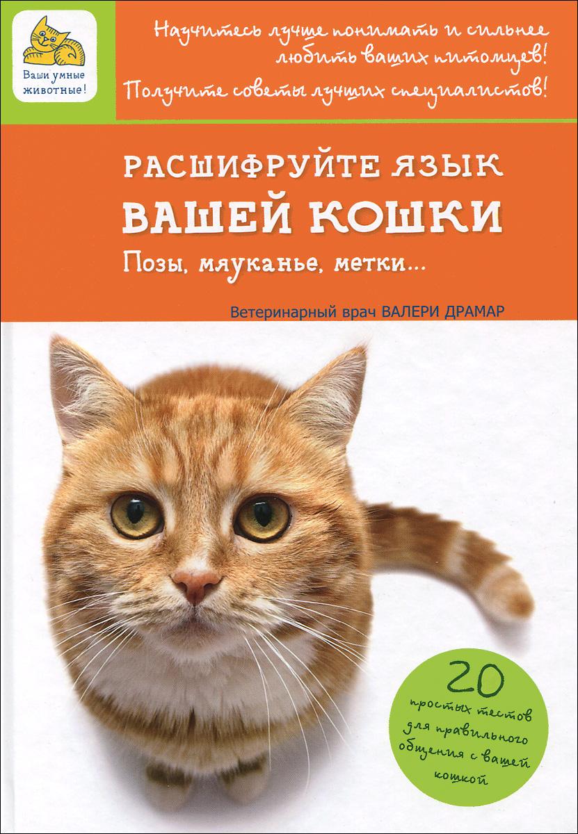 Фото Валери Драмар Расшифруйте язык вашей кошки. Позы, мяуканье, метки. Купить  в РФ