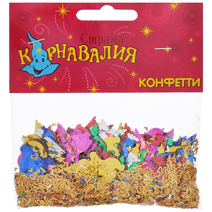Новогоднее конфетти Sima-land  Голуби и сердца , 14 г. 321701 -  Конфетти
