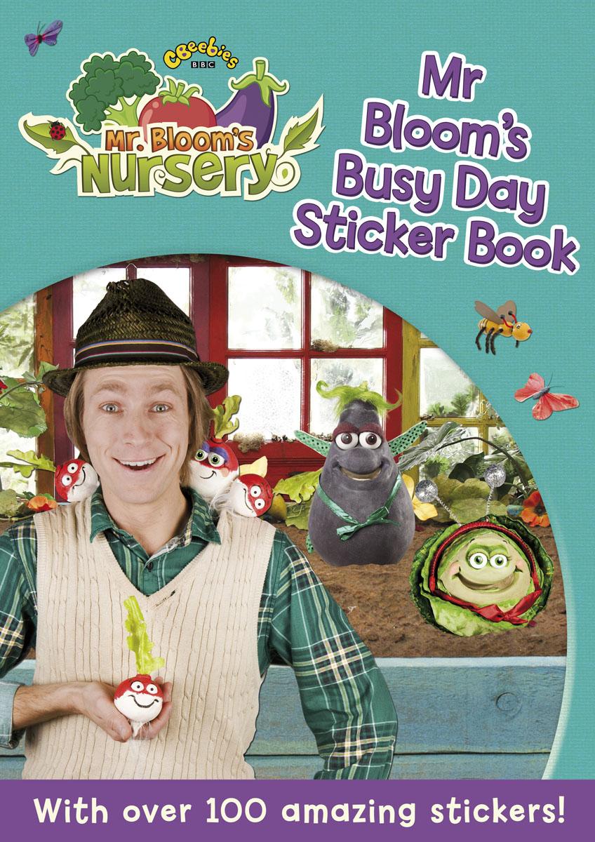 Фото Mr Bloom's Nursery: Mr Bloom's Busy Day Sticker Book. Купить  в РФ