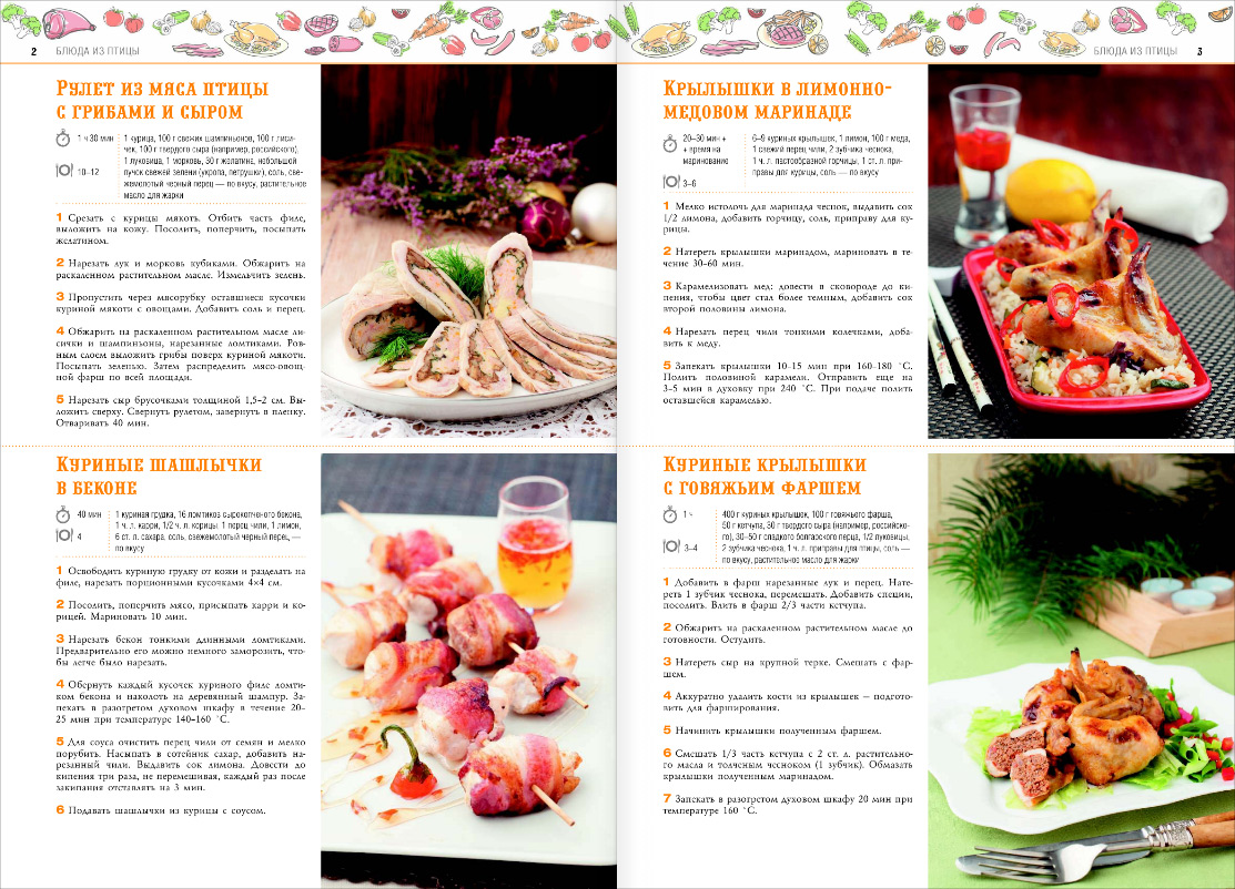 Рецепты праздничных вторых блюд с фото пошагового приготовления