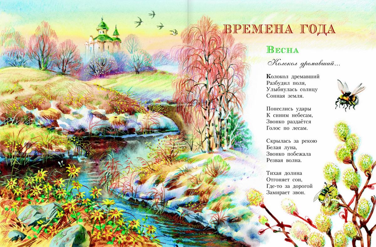 Стих есенина стихи о весне