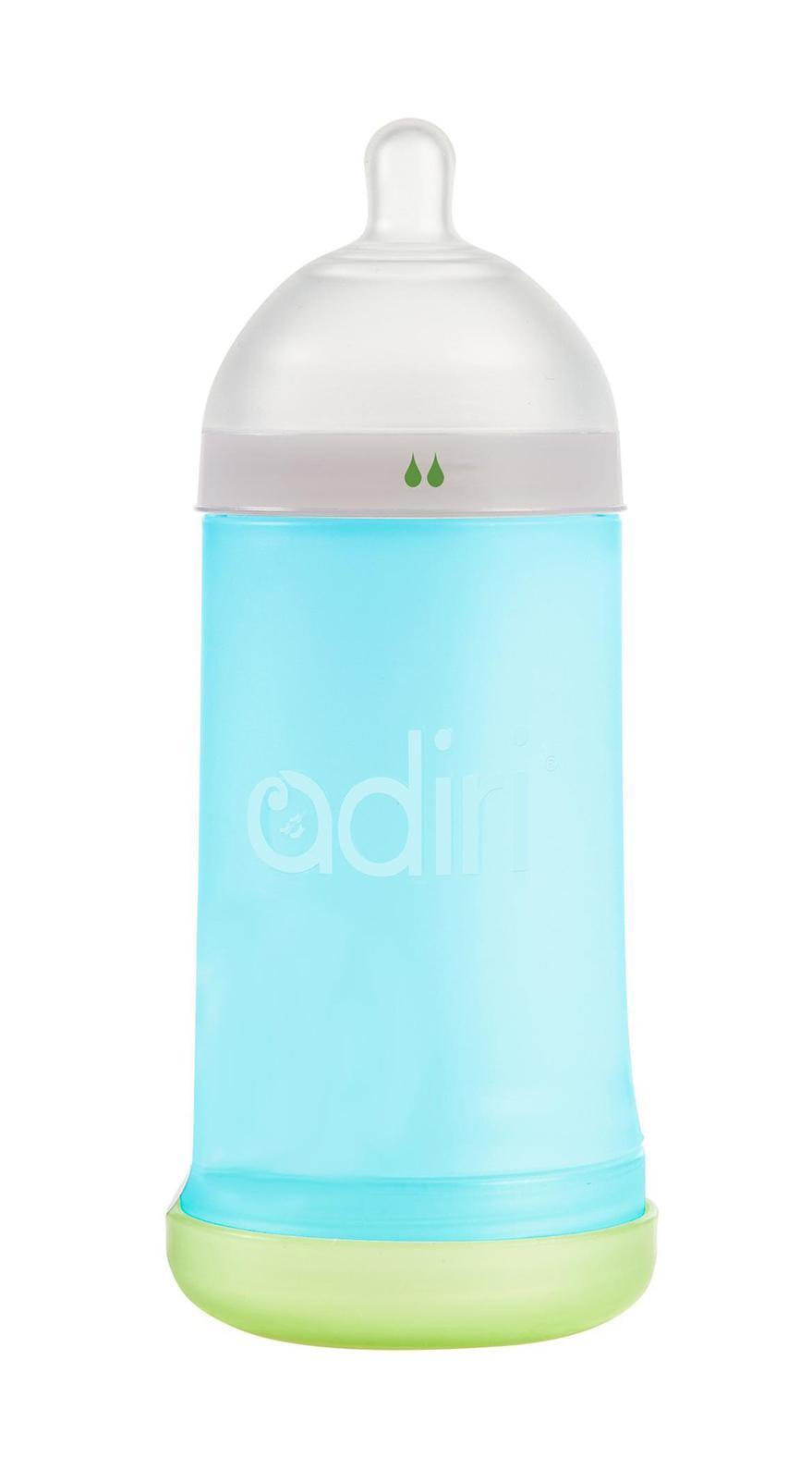 Детская бутылочка Adiri NxGen Slow Flow Blue, 3-6 мес., 281 мл. -  Бутылочки