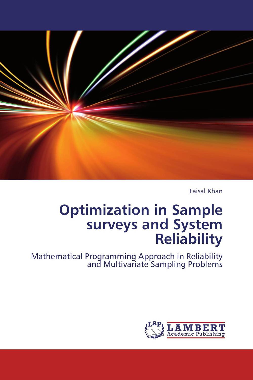 Фото Optimization in Sample surveys and System Reliability. Купить  в РФ