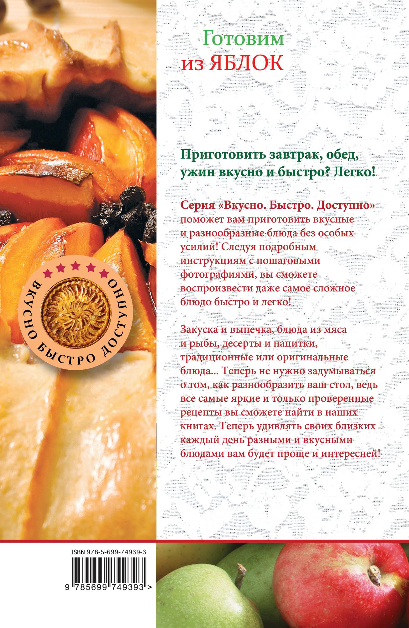 Простые блюда из яблок рецепты