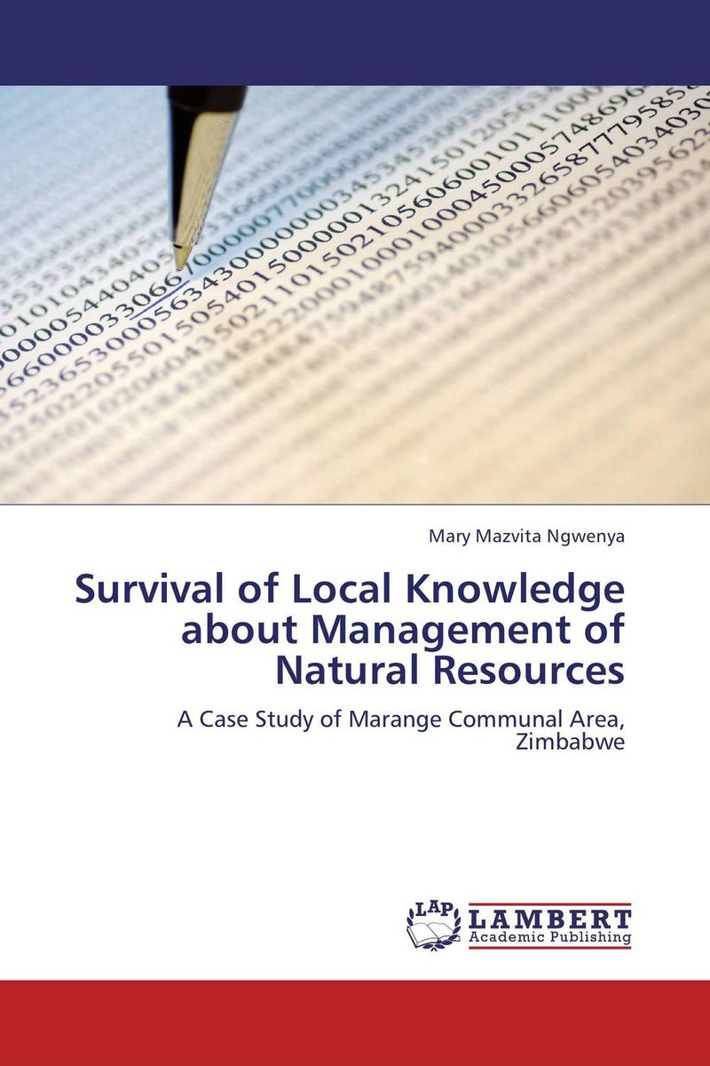 Фото Survival of Local Knowledge about Management of Natural Resources. Купить  в РФ