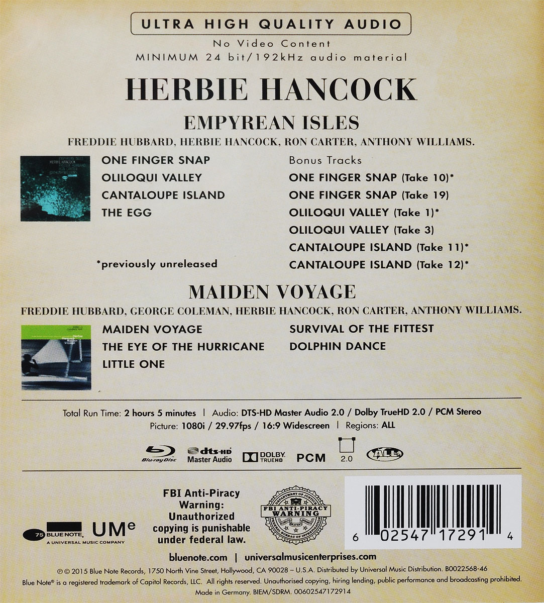 herbie hancocks maiden voyage Print and download maiden voyage sheet music by herbie hancock arranged for piano instrumental solo, and transcription in c major sku: mn0077646.