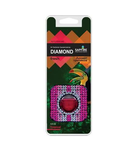 "Фото Ароматизатор в дефлектор Sapfire ""Diamond Fresh"", тропик. Купить  в РФ"