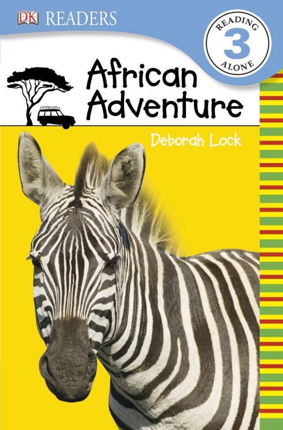 Фото DK Readers L3: African Adventure. Купить  в РФ