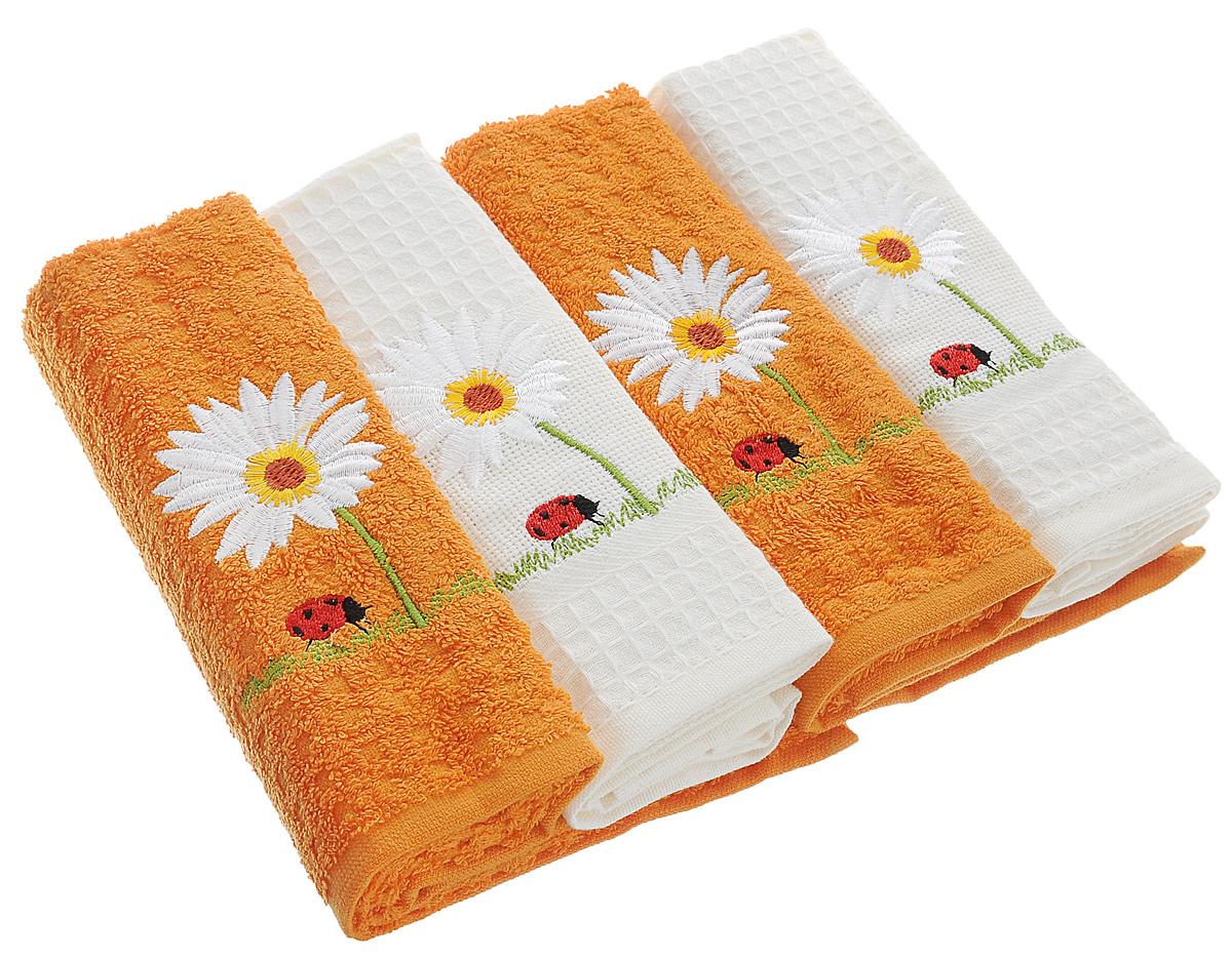 Как сделать чистыми кухонные полотенца