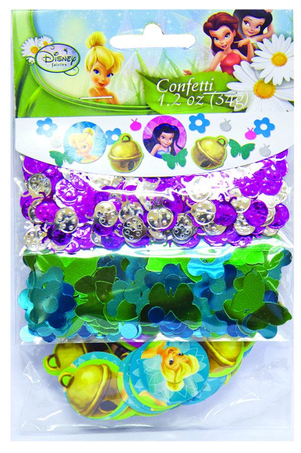Amscan Конфетти Disney Феи 3 вида -  Конфетти