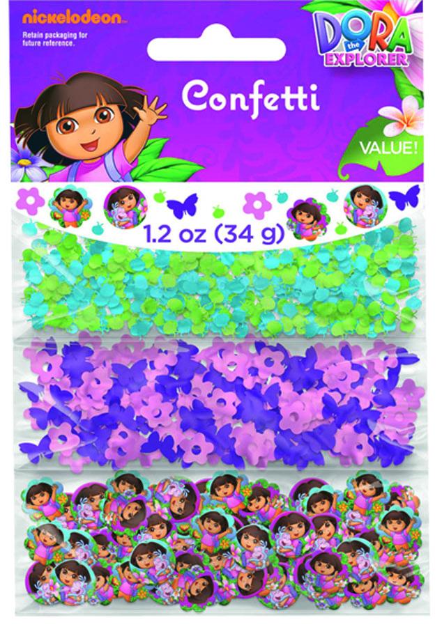 Веселая затея Конфетти Даша-путешественн 3 вида -  Конфетти