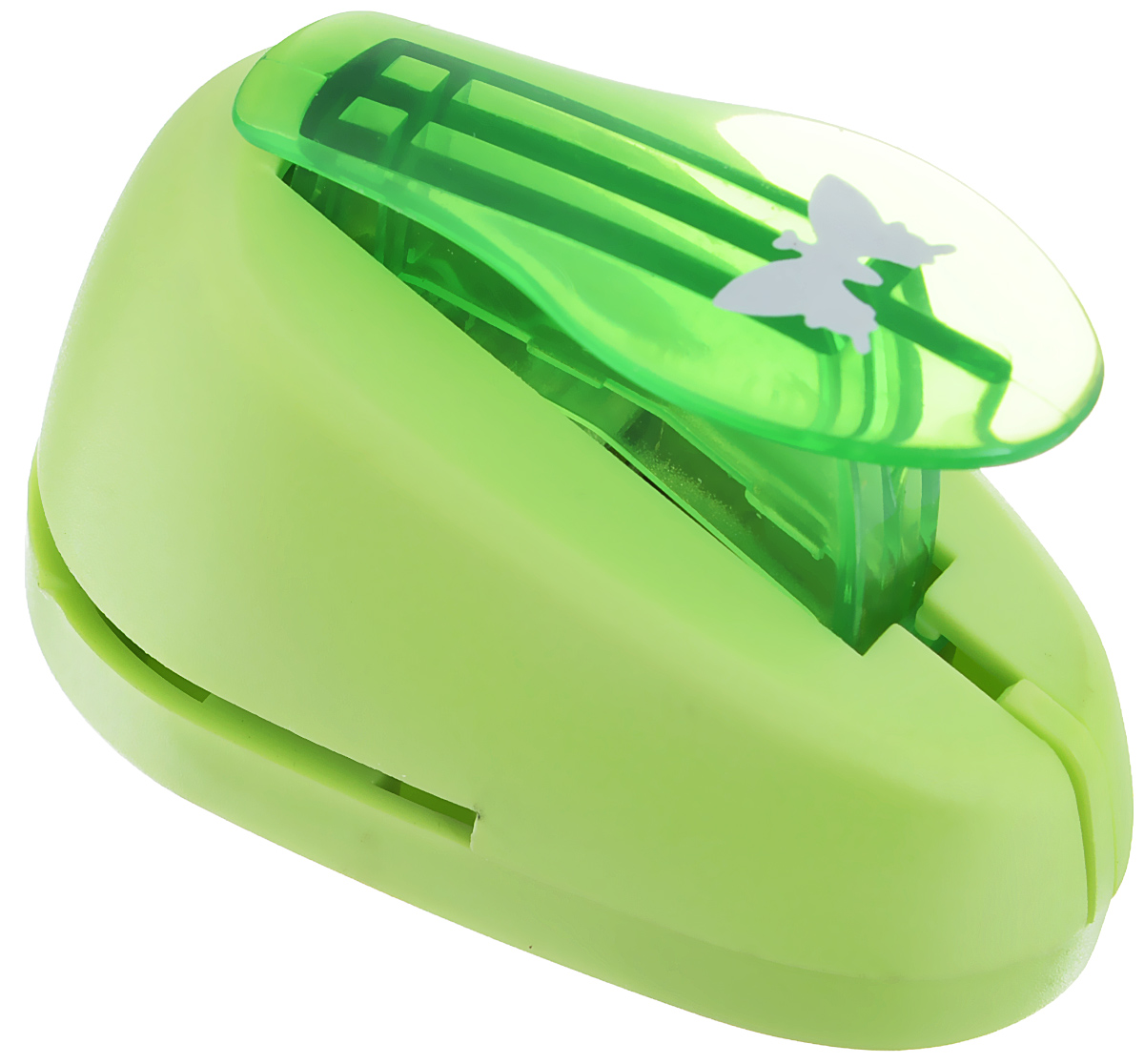 Дырокол фигурный Hobbyboom  Бабочка , №31, цвет: зеленый, 1,8 см -  Степлеры, дыроколы