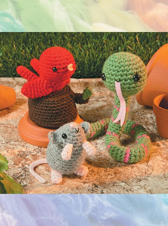 Вязание игрушек амигуруми крючком 254