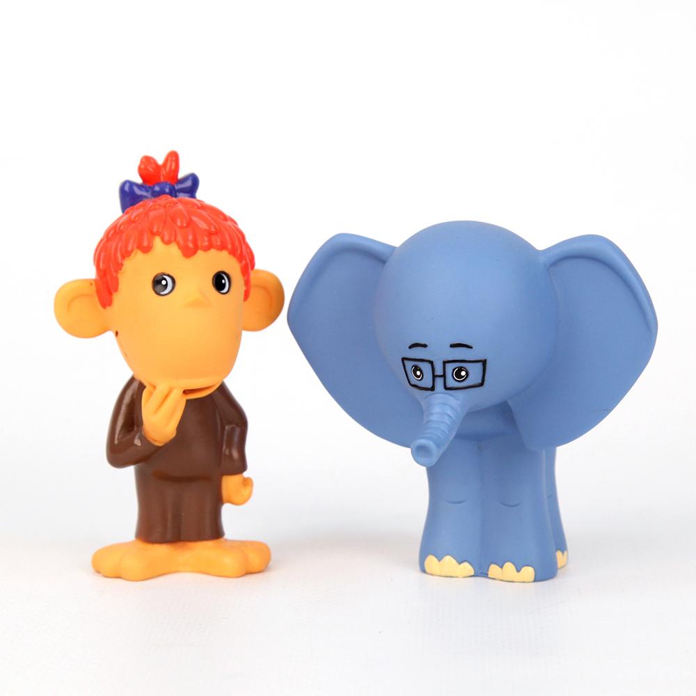 Фото Союзмультфильм Набор игрушек для ванной Мартышка и Слоник. Купить  в РФ