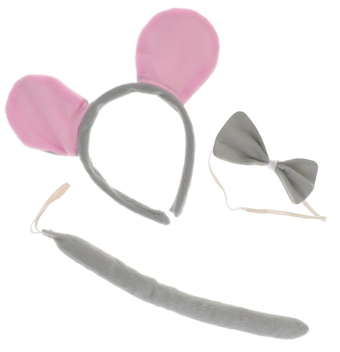 Набор маскарадный Феникс-презент  Мышонок , 3 предмета -  Карнавальные костюмы и аксессуары