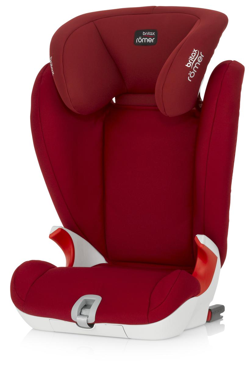Romer Автокресло Kidfix SL Flame Red от 15 до 36 кг -  Автокресла и аксессуары