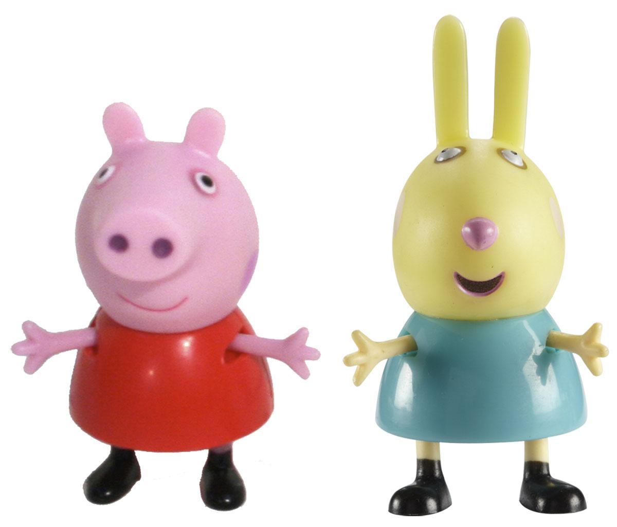 Фото Peppa Pig Набор фигурок Пеппа и Ребекка. Купить  в РФ