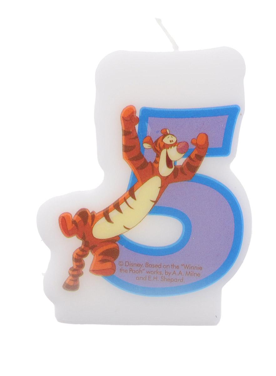 Procos Свеча для торта детская Тигра 5 лет -  Свечи для торта