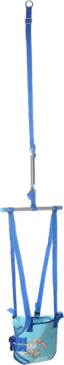 Фея Тренажер Прыгунки 2 в 1 цвет голубой -  Ходунки, прыгунки, качалки