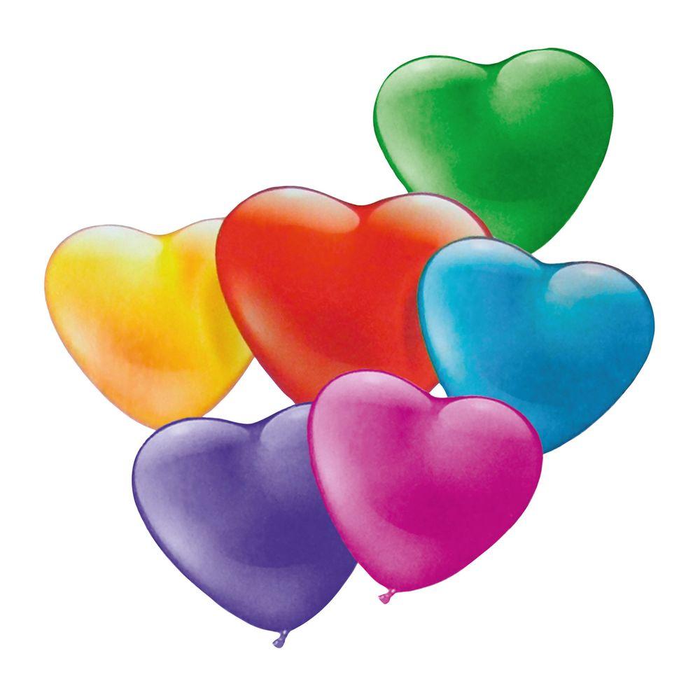 Фото Susy Card Набор воздушных шариков Мини-сердца 20 шт. Купить  в РФ