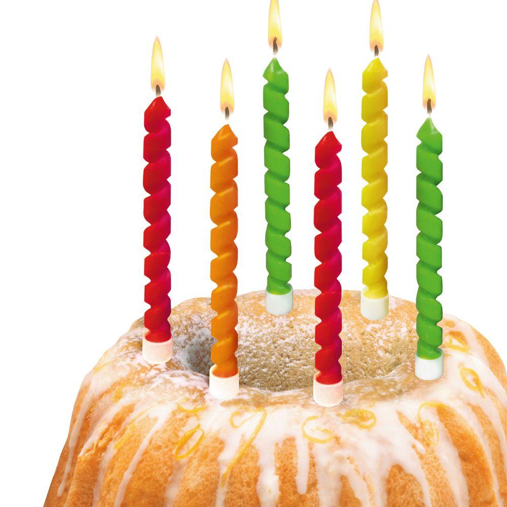 Красивая свеча на торт своими руками 59