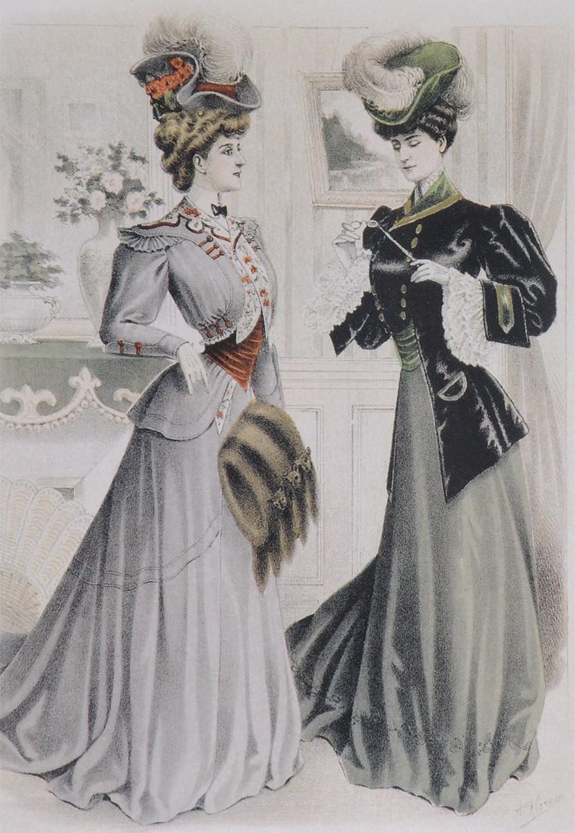 Фото Вестник моды. 1904–1906  (набор из 12 открыток). Купить  в РФ