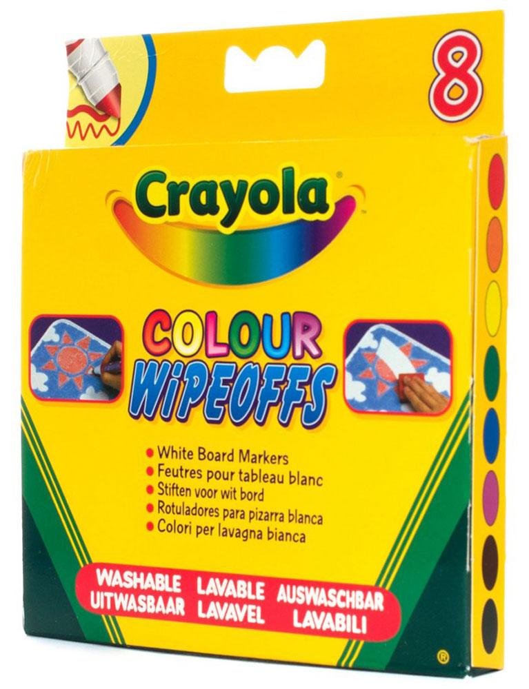 Фломастеры для белой доски  8 цветов радуги  -  Фломастеры