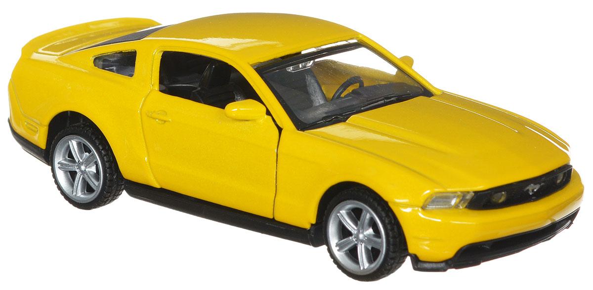 Фото ТехноПарк Модель автомобиля Ford Mustang GT цвет желтый. Купить  в РФ