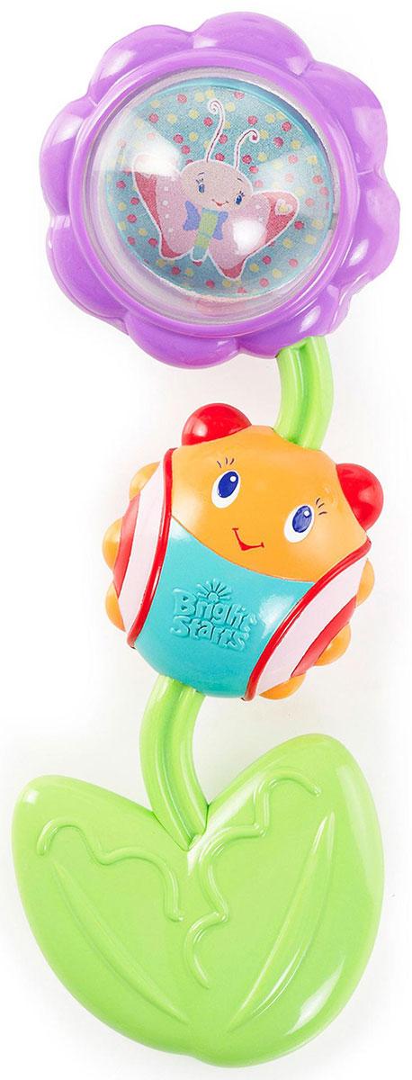 Фото Bright Starts Развивающая игрушка-прорезыватель Божья коровка на цветочке. Купить  в РФ