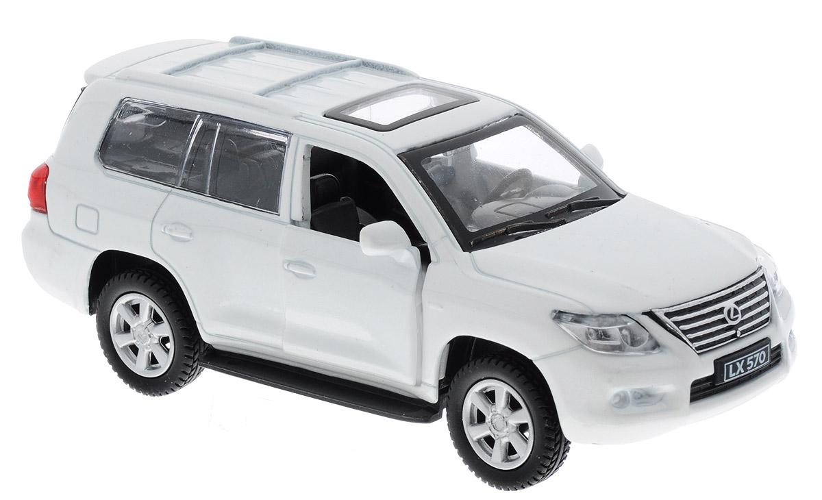 Фото ТехноПарк Модель автомобиля Lexus LX570 цвет белый. Купить  в РФ
